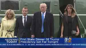 News video: First State Dinner Of Trump Presidency Set For Tonight