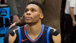 News video: Skip Bayless reacts to Westbrook's Thunder facing elimination after 113-96 rout in Game 4