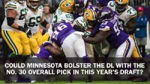 News video: Digital Extra: Vikings draft preview – Defensive Line