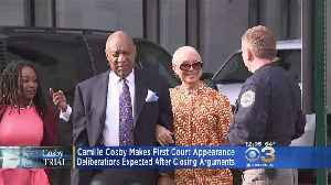 News video: Camille Cosby Makes 1st Court Appearance During Actor's Retrial Ahead Of Closing Arguments