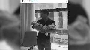 News video: Ballroom Babies! Kym Johnson and Robert Herjavec Welcome Twins