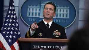 News video: Rear Adm. Ronny Jackson Faces Misconduct Allegations