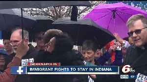 News video: Indiana immigrant fights to stay in Indiana