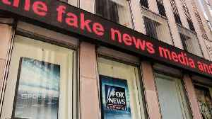 News video: Fox News Named Most Discussed Online Brand