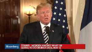 News video: Trump Says His Veterans Affairs Nominee Should Consider Withdrawing
