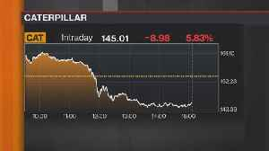 News video: Here's Why Caterpillar Shares Are Sinking