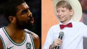News video: Walmart Yodel Boy Wants A Duet With Kyrie Irving??!!