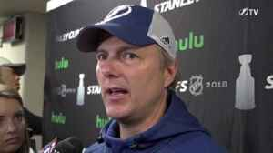 News video: Jon Cooper on Lightning back at practice, van attack in Toronto