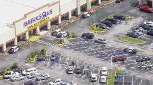 News video: Woman Stabbed By Husband In Babies R Us Parking Lot