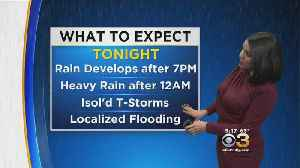 News video: Kate Has Your Tuesday Night Forecast