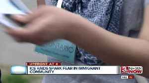 News video: ICE raids spark fear in immigrant community 4pm