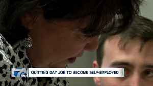 News video: SURVEY: 36% OF NEW YORKERS PLAN TO QUIT DAY JOB, BECOME SELF-EMPLOYED