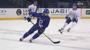 News video: Lightning back at work, getting ready for 2nd round