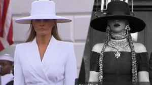 News video: Who Wore It Better? Beyoncé Or Melania Trump?!