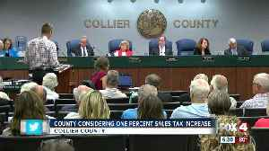 News video: Sales tax hike to be decided by Collier voters
