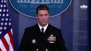 News video: Report: Ronny Jackson 'Will Not Withdraw' Despite Trump's Comments