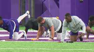 News video: Vikings Start Training In New Home, With New Quarterback