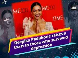 News video: Deepika Padukone raises a toast to those who survived depression