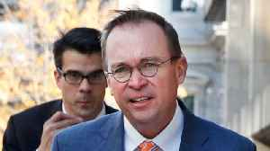 News video: CFPB's Mick Mulvaney Tells Outside DC Lobbyists 'Pay to Play'