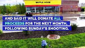 News video: Tennessee Waffle House Donating 100 Percent of Proceeds to Shooting Victims' Families
