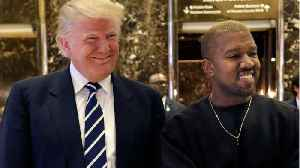 News video: The Internet Is Freaking Out After Kanye West Posts Selfie In MAGA Hat
