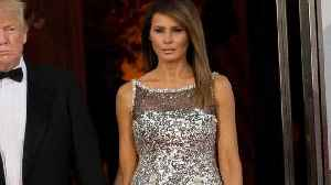 News video: Melania Trump Wears Chanel to State Dinner