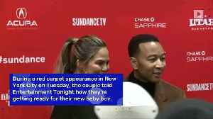 News video: John Legend and Chrissy Teigen are 'Using Luna's Old Things' to Prep for Baby