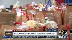 News video: Communities working to feed children on free or reduced meals during walkout