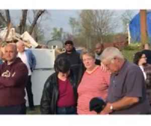 News video: Tornado Survivor, 17, Sings on the Wreckage of His Former Home
