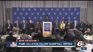News video: the changes recommended to NCAA college basketball