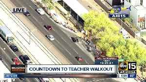 News video: Red For Ed march underway in Phoenix
