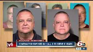 News video: Home improvement contractor exposed by Call 6 Investigates sentenced to 10 years behind bars