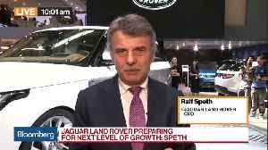 News video: Jaguar Land Rover Preparing for Next Level of Growth, CEO Says