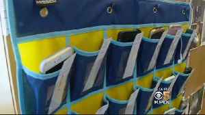 News video: Bay Area High School Is Helping Students Ditch Cellphones In The Classroom