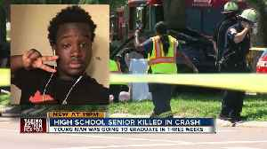 News video: Community mourns the death of teen killed in crash 3 weeks before Lakewood High School graduation