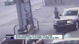 News video: Judge calls out 24-year-old accused of shooting little girl in the head
