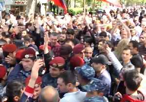 News video: Protests Continue Against Government in Armenian Capital