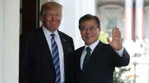 News video: US and South Korean Leaders Reportedly Holding a Summit