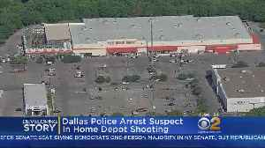 News video: Dallas Police Arrest Suspect In Home Depot Shooting