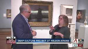 News video: Nelson-Atkins Museum of Art launches Deaf Culture Project