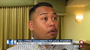 News video: FGCU Offers Scholarships for Local Students