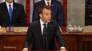 News video: Macron Says He's Sure U.S. Will Return to the Paris Climate Accord
