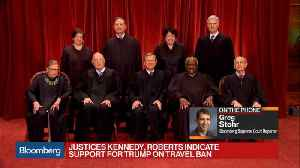 News video: Trump Travel Ban Seems Poised for Victory at U.S. Supreme Court