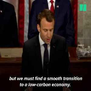 News video: French President Macron: 'Make Our Planet Great Again'