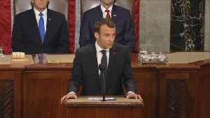 Macron Makes Case to Congress for New Iran Deal