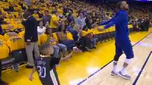 News video: Watch: Steph Curry Look-A-Like Tries to Dance Battle!