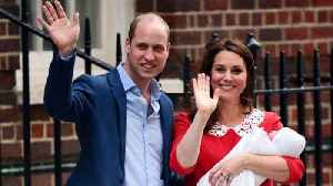 News video: Kate Middleton And Prince William Showed Some Rare PDA At The Royal Baby's Debut