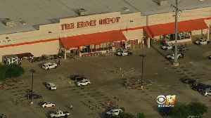 News video: LATEST: Dallas Police Officer Dies, Another Critical After Home Depot Shooting