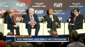 News video: Vice President Mike Pence visits Milwaukee