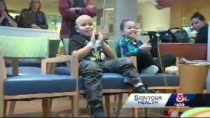 News video: Boston hospital brings cancer patients, family together with 'sibling camp'